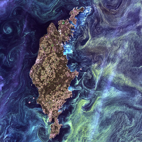 Earth as Art: Landsat satellite images of the Earth from space look like paintings | Visions aériennes | Scoop.it