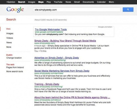30 Ways To Turn Yourself Into A Google Search Pro - Simply Zesty | Onderwijs, ICT, Internet | Scoop.it