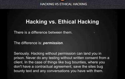 Apprendre l'ethical Hacking gratuitement | Applications du Net | Scoop.it