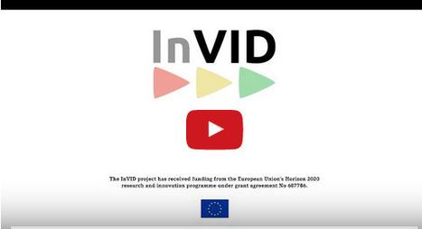 AFP : InVID, outil de vérification de vidéos | Images fixes et animées - Clemi Montpellier | Scoop.it