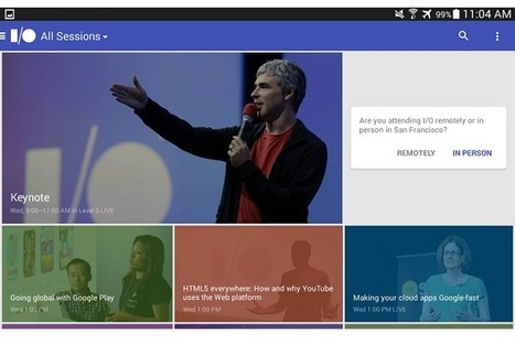 Official Google I/O 2014 app now available in Play Store | Digital-News on Scoop.it today | Scoop.it