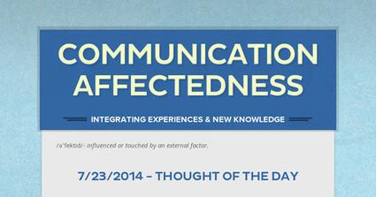 Communication Affectedness | eHS Mobile Classroom | Scoop.it