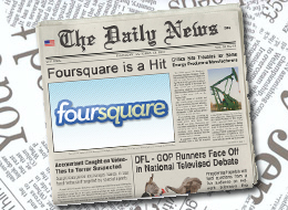 Seven Ways Journalists Can Use Foursquare | Mobile Journalism Apps | Scoop.it