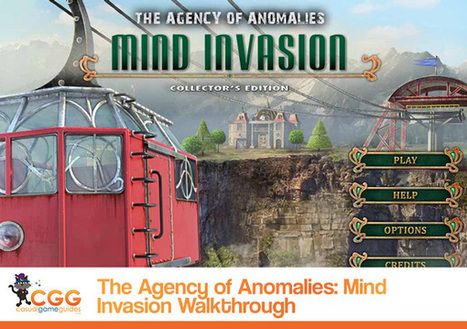 The Agency of Anomalies: Mind Invasion Walkthrough | CasualGameGuides.com | Casual Game Walkthroughs | Scoop.it