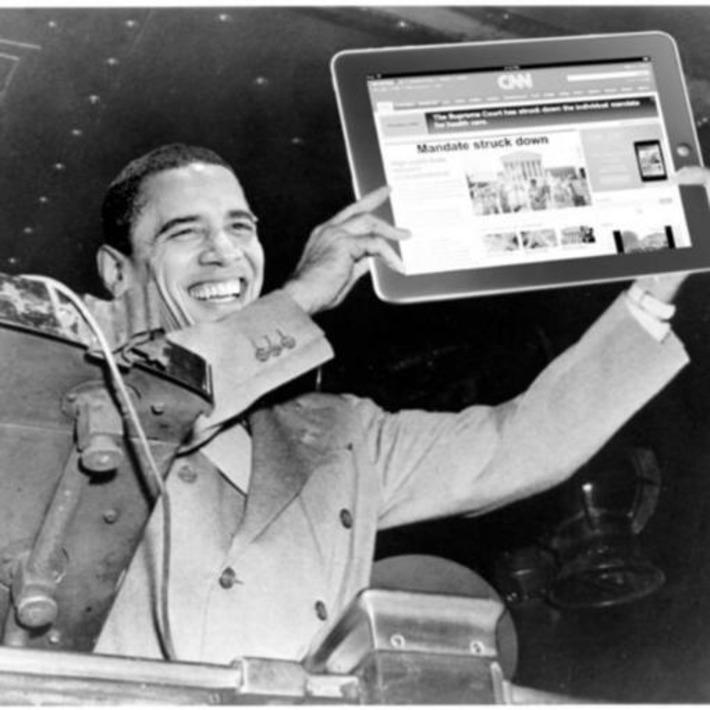 'Mandate struck down': 'Dewey Defeats Truman' moment for CNN, Fox News | Cultural History | Scoop.it