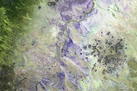 Two Views of the Painted Desert : Image of the Day | Remote Sensing News | Scoop.it