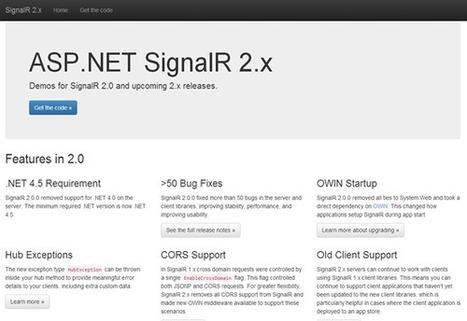 Einstieg in SignalR 2.0 & Azure Website Websockets | JavaScript in Unternehmensanwendungen | Scoop.it