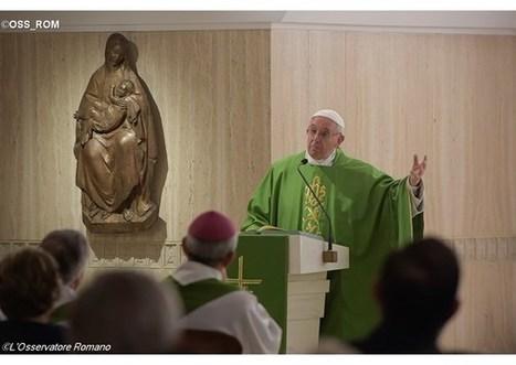 Pápež František v homílii: Boh nás vedie k zmene mentality | Správy Výveska | Scoop.it