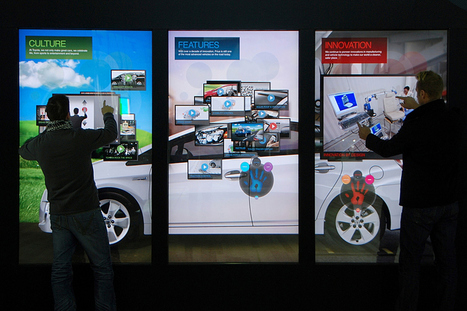 Multi-touch Wall Developed In Los Angeles | PUSH Offices | Technologies for Event, Show and Entertainment | Scoop.it