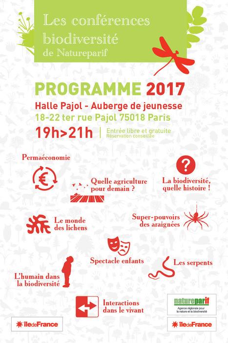 Les conférences Biodiversité de Natureparif : Programme 2017 | Variétés entomologiques | Scoop.it