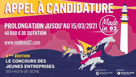 #Concours #Startup #mentorat : Made in 92 – 6ème Édition | France Startup | Scoop.it