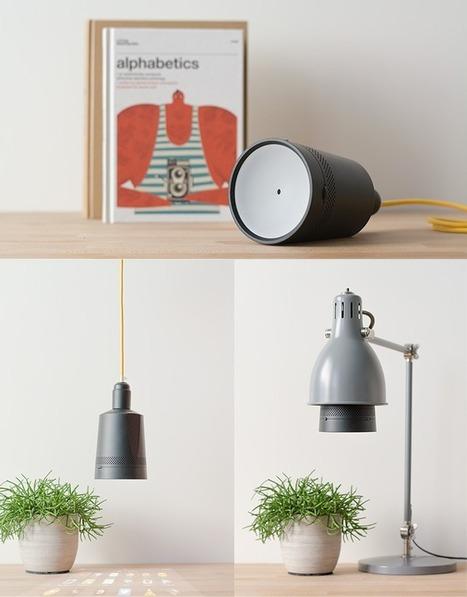 Beam : un pico-projecteur qui prend la place d'une ampoule   Actualité du marketing digital   Scoop.it