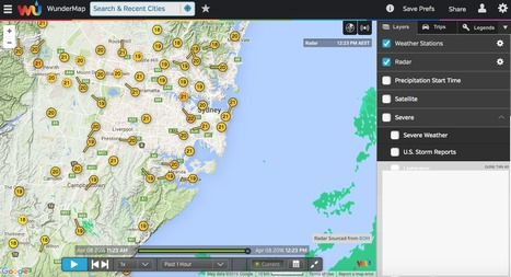 Wundermap Interactive Weather Map And Ra
