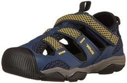 8ef804c0ed98 Teva Jansen Leather Kids Sport Shoe (Toddler Little Kid Big Kid)