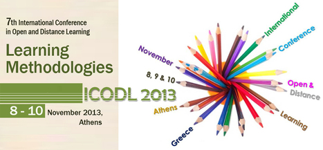 7th ICODL 2013 | Open Distance Education and Life Long learning | Scoop.it