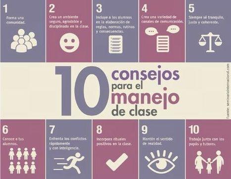 10 Consejos para el Manejo de la Clase | Infografía | (Todo) Pedagogía y Educación Social | Scoop.it