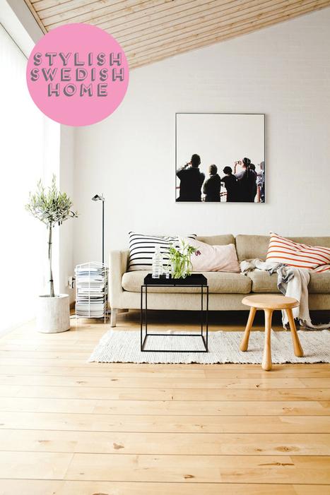 Happy Interior Blog: Home Tour: Swedish Interior Design | Interior Design & Decoration | Scoop.it