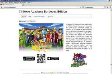 Château Academy, un jeu pour orient er vers les métiers du vin   Vin 2.0   Scoop.it