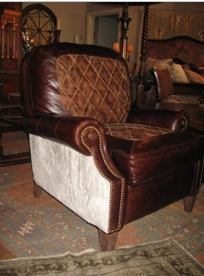Custom Western Cowboy Furniture Rustic Ranch Cattlemans Furnishing Dcor