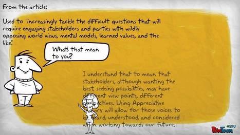 Appreciative Inquiry | Organisation Development | Scoop.it