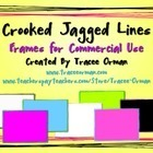 Crooked Jagged Lines Frames for Commercial Use | Clip Art for Commercial Use | Scoop.it