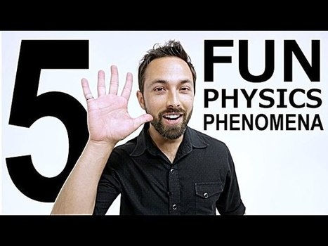 Can You Explain The Science Behind These Physical Phenomena? | Strange days indeed... | Scoop.it