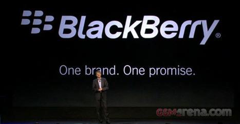 RIM renames itself to BlackBerry - GSMArena Blog | ten Hagen on Social Media | Scoop.it