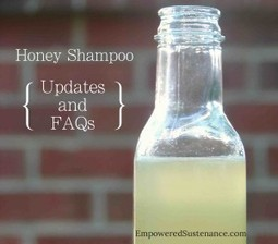 Honey Shampoo Update and FAQs - Empowered Sustenance | Green Curls | Scoop.it