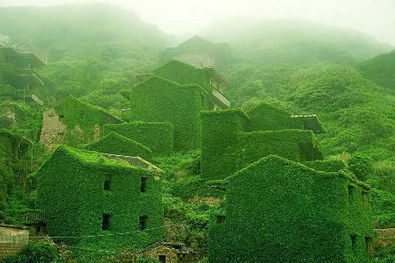 Fascinating photographs of an abandoned Chinese fishing village reclaimed by nature | Green Architecture | Scoop.it