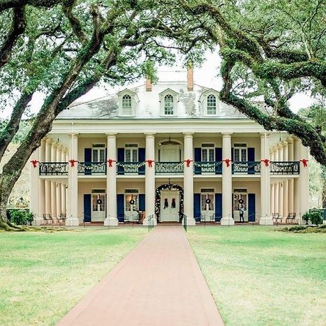 Instagram photo by Oak Alley Plantation • Dec 7, 2016 at 3:35pm UTC | Oak Alley Plantation: Things to see! | Scoop.it