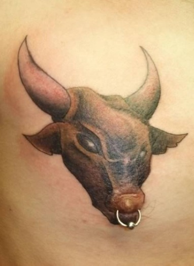 12 Totally Crazy Nipple Tattoos and Piercings | Strange days indeed... | Scoop.it