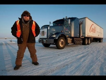 ice road truckers mother nature scorned