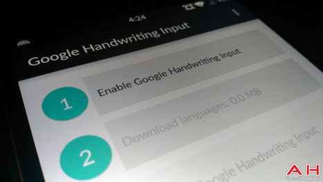 Google Release Handwriting Input App With The Ability To Recognize 82 Languages And Even Emoji   Androidheadlines.com   Mobile & Technology   Scoop.it