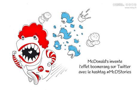 Une opé MacDonald's dérape sur Twitter | Engagement | Scoop.it