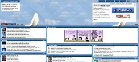 Protopage RSS Reader and Start Page to get organized | 21st Century Tools for Teaching-People and Learners | Scoop.it