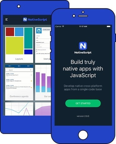 Get Started Building Truly Native Mobile Apps with JavaScript or Angular | NativeScript | GeoWeb OpenSource | Scoop.it