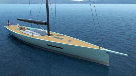 Philippe Briand's Egoist Yacht Concept | Nereides Diary | Scoop.it