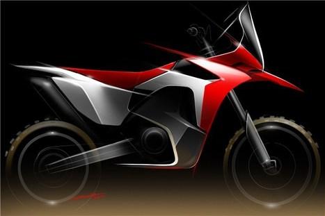 Honda's Dakar racer revealed | motorcycles | Scoop.it