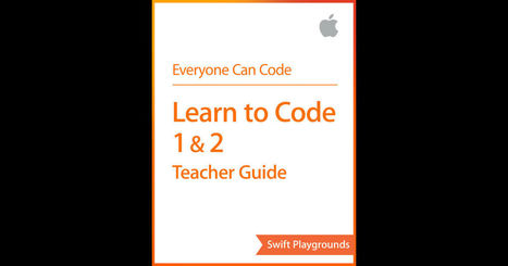 Swift Playgrounds: Learn to Code 1 & 2 by Apple Education on iBooks :: Free eBook | IKT och iPad i undervisningen | Scoop.it