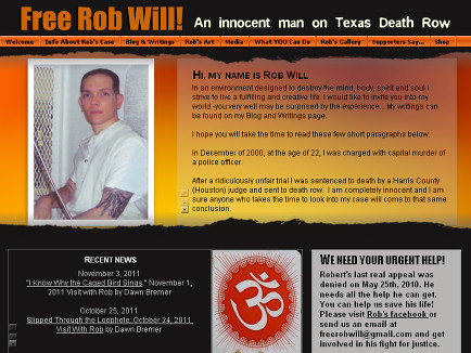 Free Rob Will! An innocent man on Texas Death Row | America's Wrongfully Convicted | Scoop.it