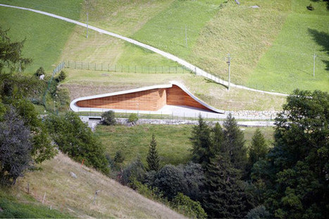 Striking, Yet Noninvasive Hydroelectric Power Plant Design in Italy | Extreme Architecture | News, E-learning, Architecture of the future at news.arcilook.com | Green Architecture | Scoop.it