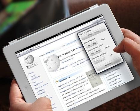 NaviDys : l'application qui facilite la lecture web | Pralines | Scoop.it