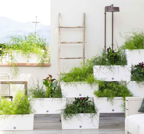 Stacked Planter Boxes Easy Freestanding Verti