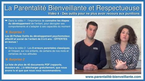 Vidéo 4 - 8 alternatives aux punitions - La Parentalité Bienveillante et Respectueuse | Ressources pour parents | Scoop.it