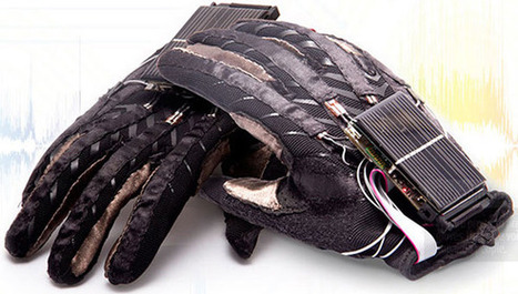 Innovative high-tech gloves translates sign language into complete spoken words | Language Translation | Inclusive Education | Scoop.it