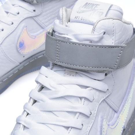 Air Force 1 Downtown Hi LW QS 'Hologram' by  @Nike | #Design | Scoop.it