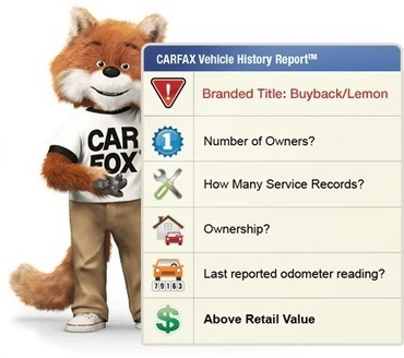 CARFAX® - Free VIN Check   Know the Used Ca