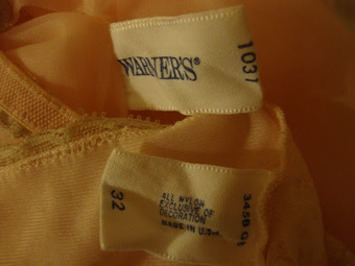 Identifying The Age Of Vintage Lingerie: Using Labels & Dating Resources | Lingerie Love | Scoop.it