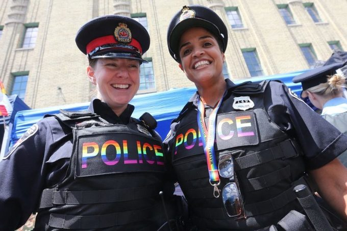 Excluding police from Pride parade is a big blow to equality