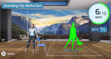VERA: Virtual Physical Therapy in the Comfort of Your Own Home | GAMIFICATION & SERIOUS GAMES IN HEALTH by PHARMAGEEK | Scoop.it